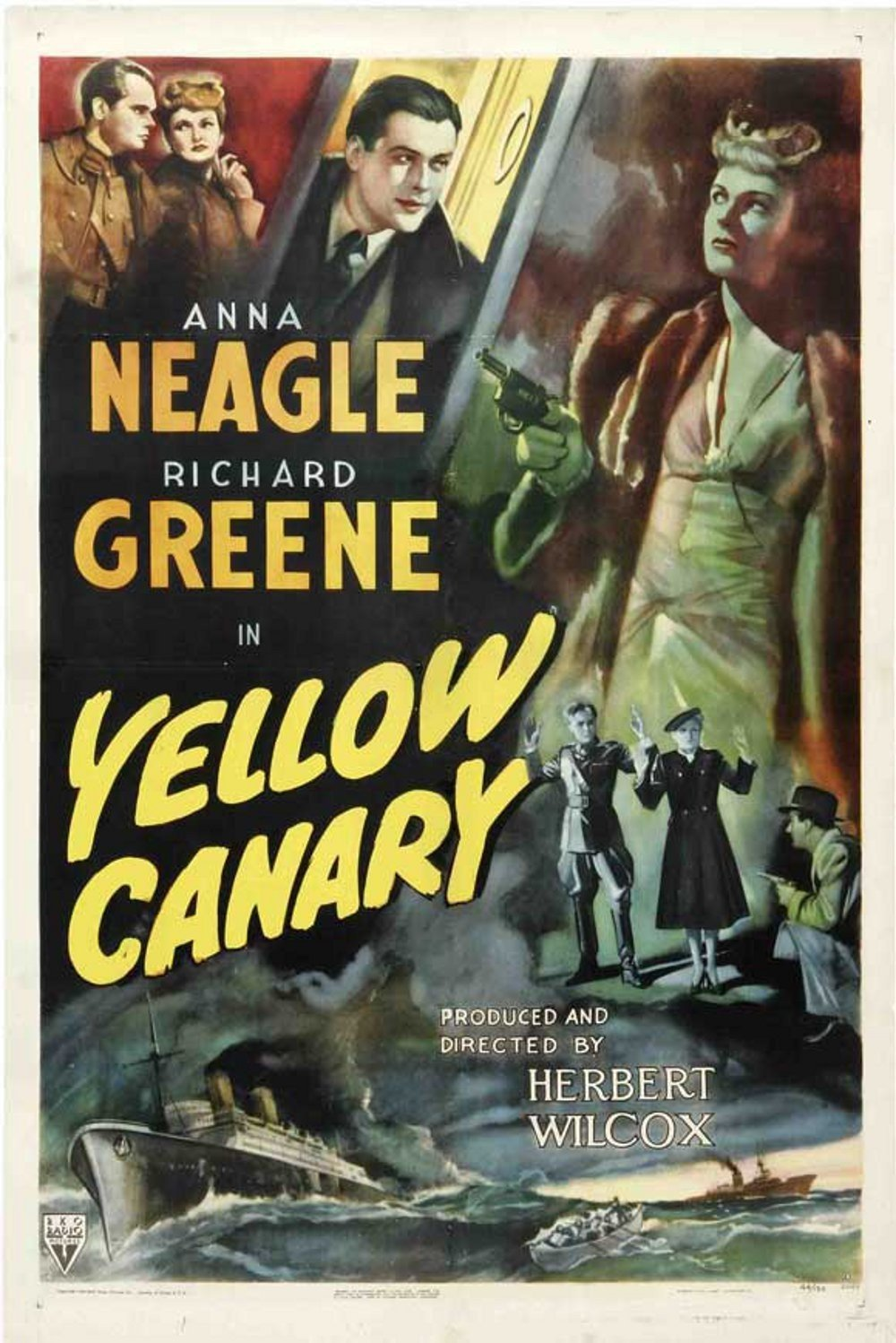 Yellow Canary (1943) US poster