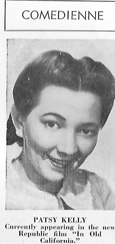 Patsy Kelly in In Old California (1942)
