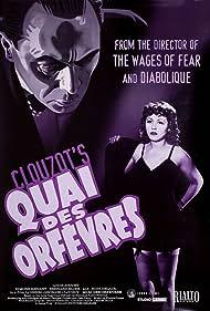 Bernard Blier, Suzy Delair, Louis Jouvet, and Simone Renant in Quai des Orfèvres (1947)