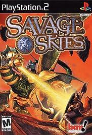 Savage Skies Poster