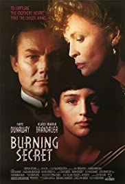 Burning Secret Poster