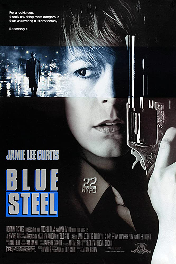 Jamie Lee Curtis in Blue Steel (1990)
