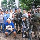 Mark Dacascos, Nash Espinosa, Jojo De Leon, and Joe Suba in The Hunt for Eagle One (2006)