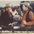 Jack Randall, Glenn Strange, and Rusty the Horse in Covered Wagon Trails (1940)