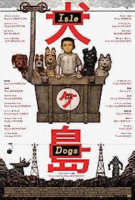 Jeff Goldblum, Bill Murray, Bob Balaban, Edward Norton, Bryan Cranston, and Koyu Rankin in Isle of Dogs (2018)
