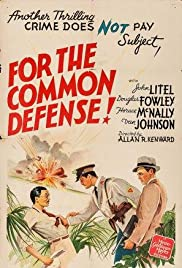 For the Common Defense! Poster