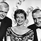 O.E. Hasse, Lilli Palmer, and Peter van Eyck in Der gläserne Turm (1957)