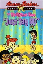 The Flintstone Kids' Just Say No Special Poster