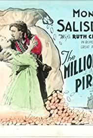 Ruth Clifford and Monroe Salisbury in The Millionaire Pirate (1919)