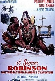 Il signor Robinson, mostruosa storia d'amore e d'avventure Poster