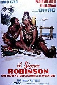 Watch online live movies Il signor Robinson, mostruosa storia d'amore e d'avventure [1280x720]
