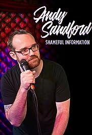 Andy Sanford: Shameful Information Poster