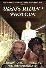 Jesus Ridin' Shotgun Poster