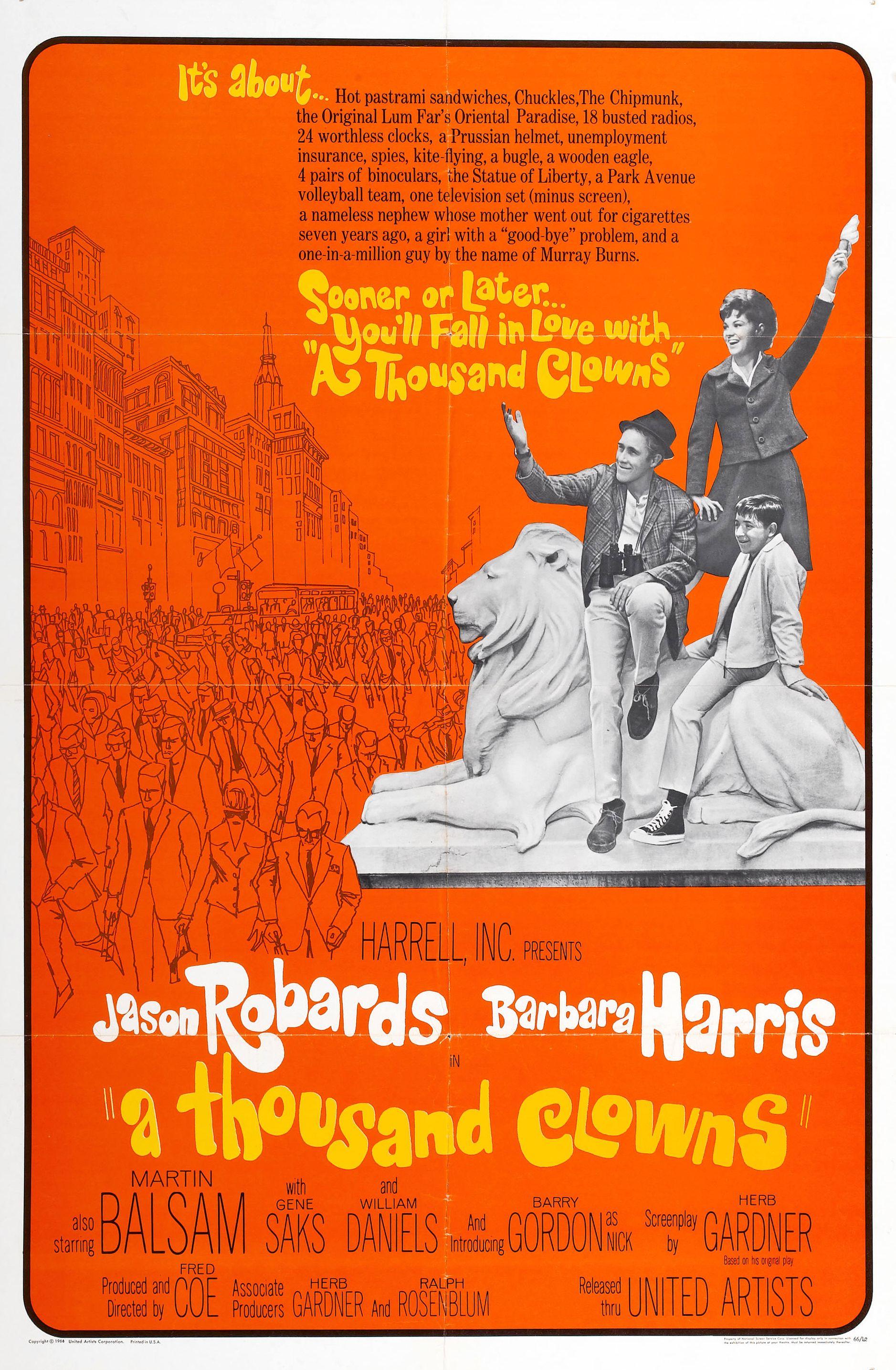 A Thousand Clowns (1965) - IMDb