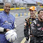 Ron Claiborne, Joey Logano, and Darrell Wallace Jr. in Good Morning America Weekend Edition (1993)