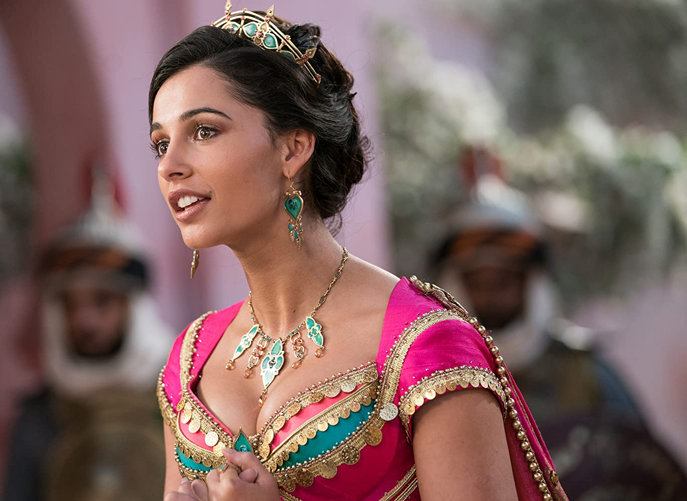 Naomi Scott in Aladdin (2019)