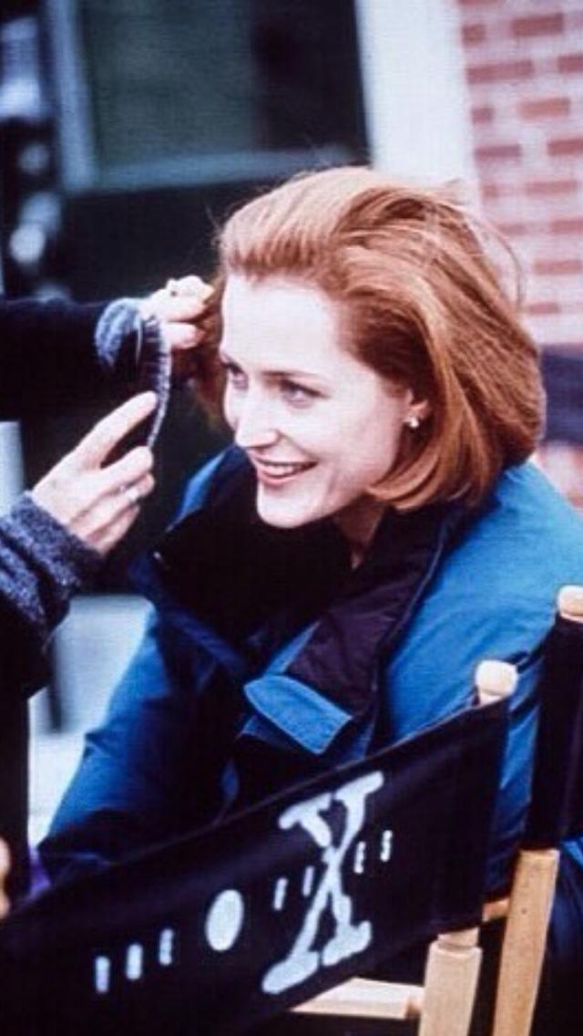 Gillian Anderson in The X Files (1993)