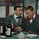 Frantisek Filipovský and Rudolf Hrusínský in Dobrý voják Svejk (1957)