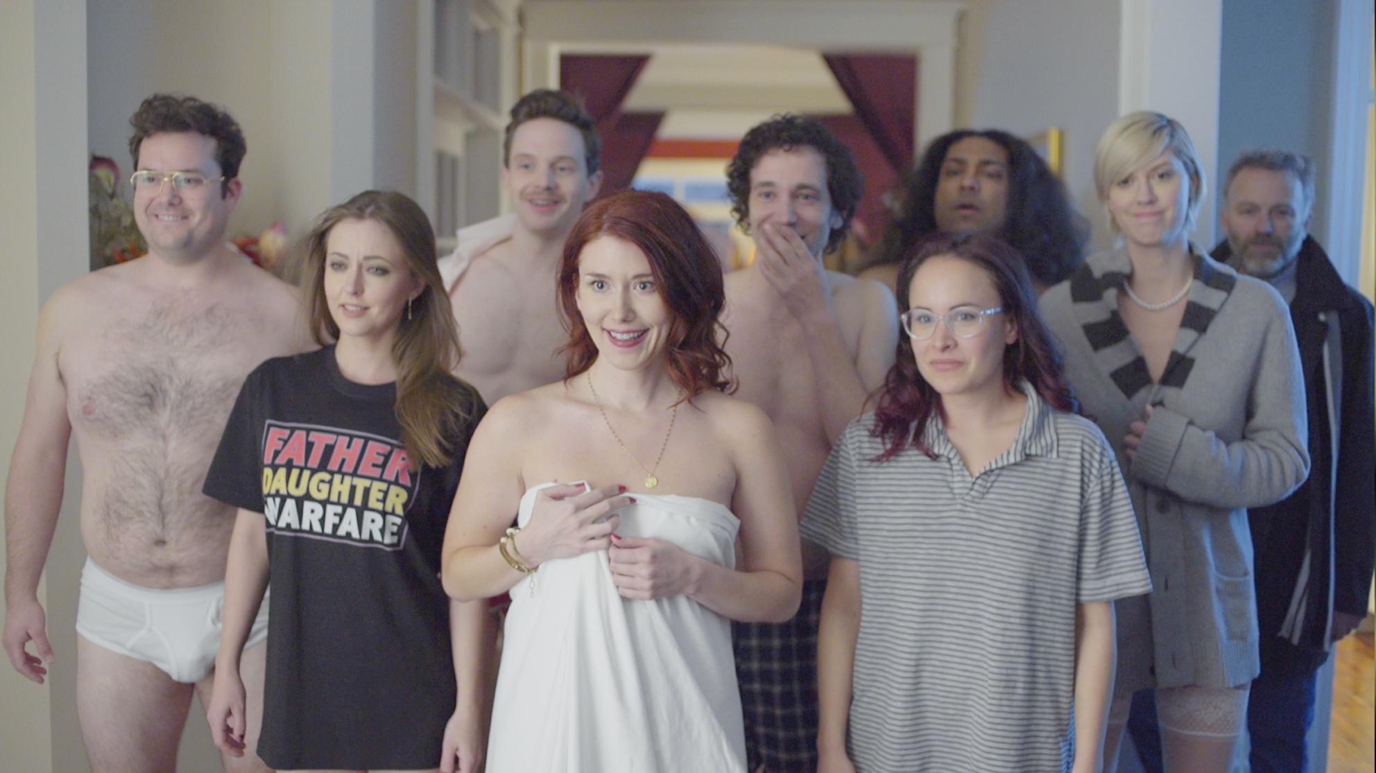 Leszbikusok ass nyalás orgia