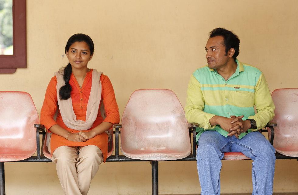 Soubin Shahir and Lijo Mol Jose in Maheshinte Prathikaaram (2016)