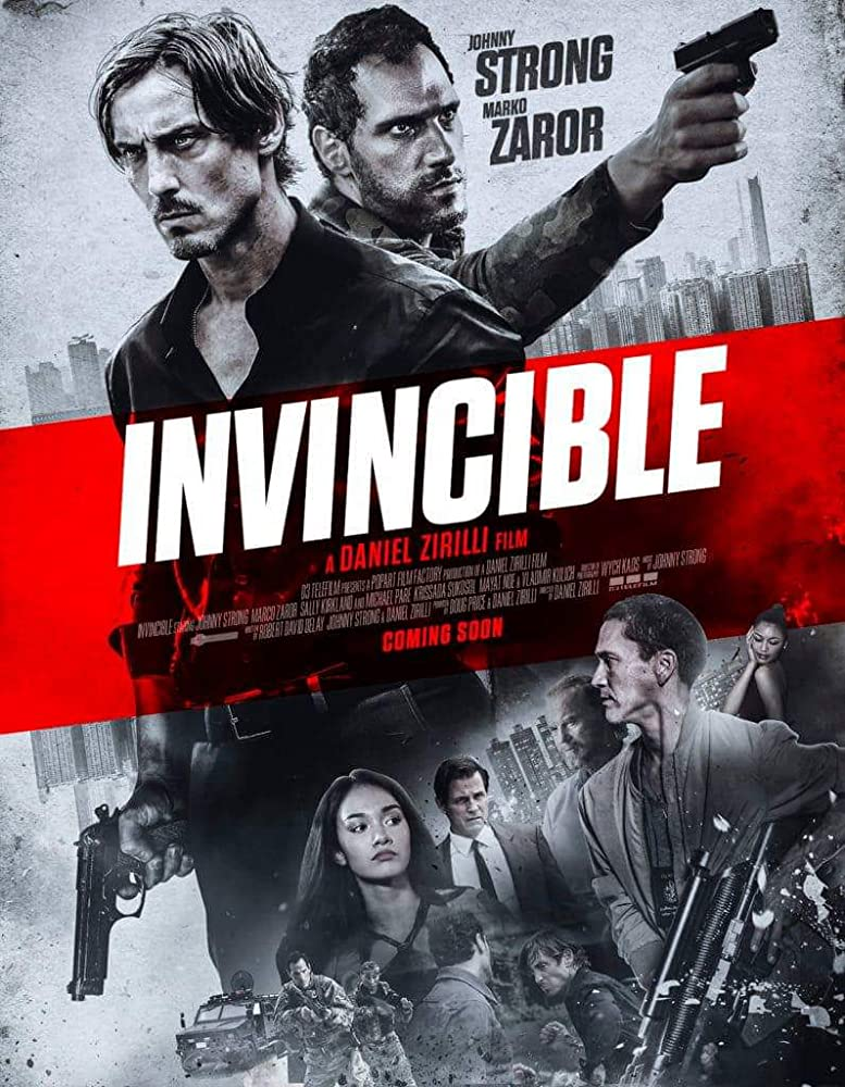 Invincible 2020 English Full Movie 720p HDRip 800MB Download