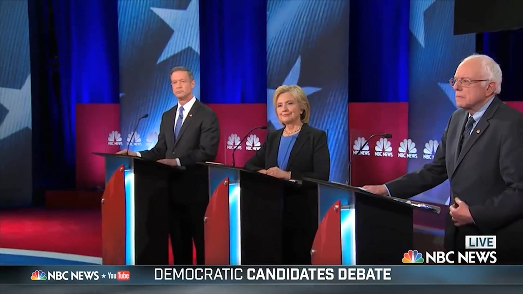 democratic candidates debate 2016