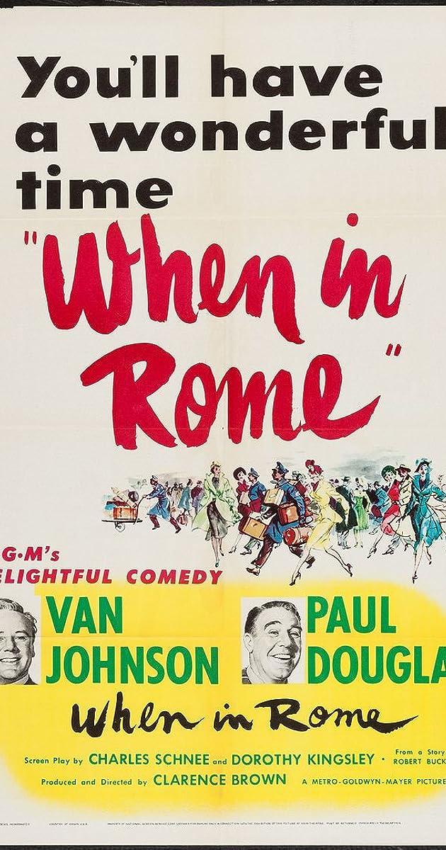 When in Rome (1952) - Carlo Rizzo as Antonio Silesto - IMDb