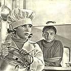 Nikolay Rybnikov and Nadezhda Rumyantseva in Devchata (1962)