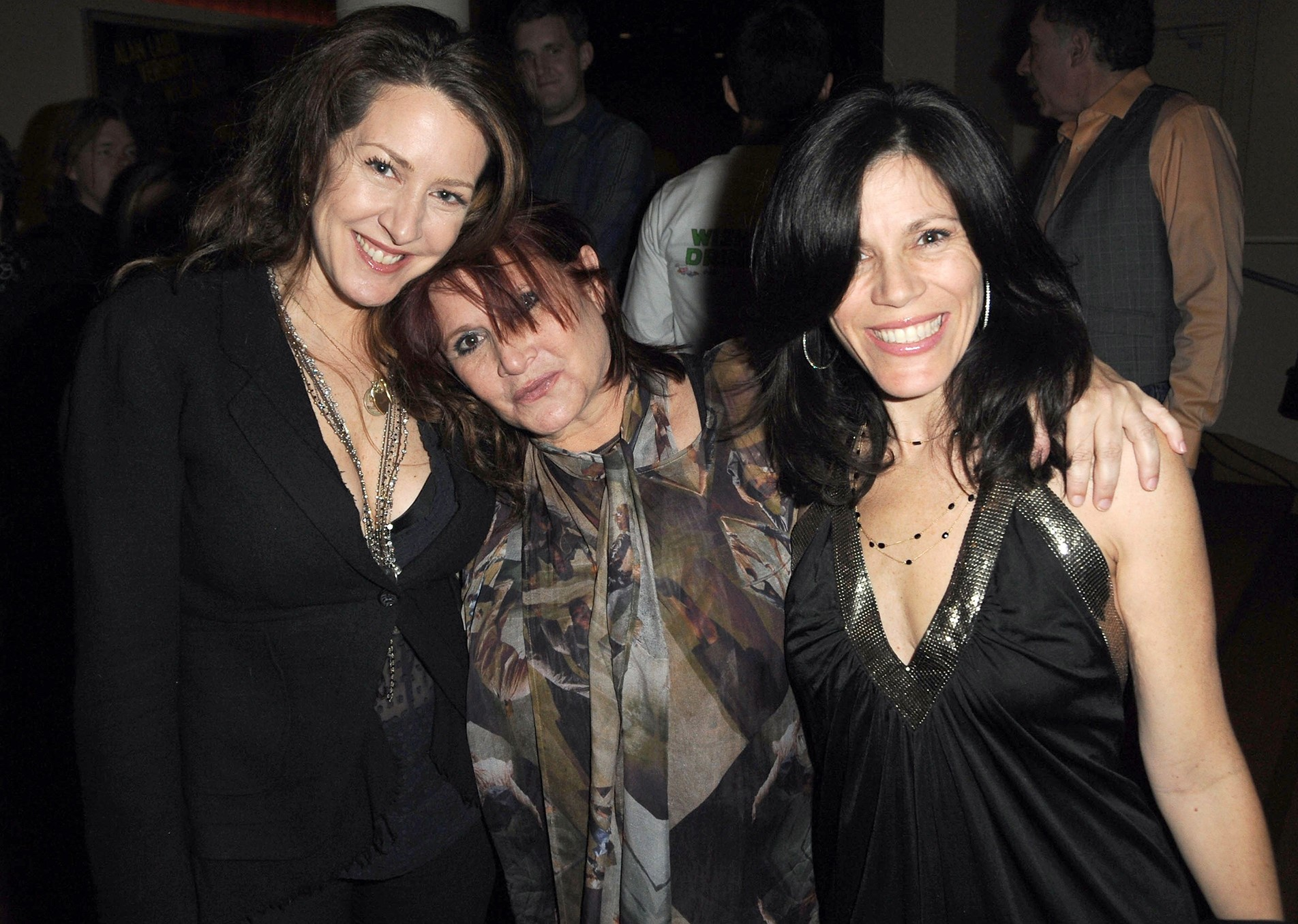 Carrie Fisher, Joely Fisher, and Tricia Leigh Fisher at an event for Carrie Fisher: Wishful Drinking (2010)