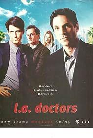 Matt Craven, Sheryl Lee, Ken Olin, Rick Roberts, and Patricia Wettig in L.A. Doctors (1998)