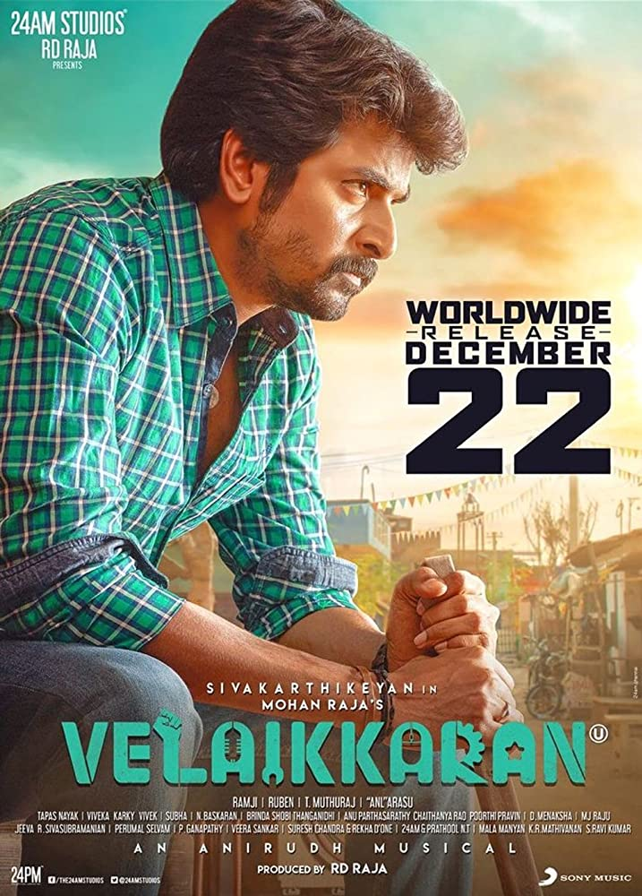 Velaikkaran (2017) Hindi Dubbed 1080p HDRip 4.7GB Free Download