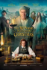 Jonathan Pryce, Christopher Plummer, Donald Sumpter, Dan Stevens, Justin Edwards, Anna Murphy, and Pearse Kearney in The Man Who Invented Christmas (2017)