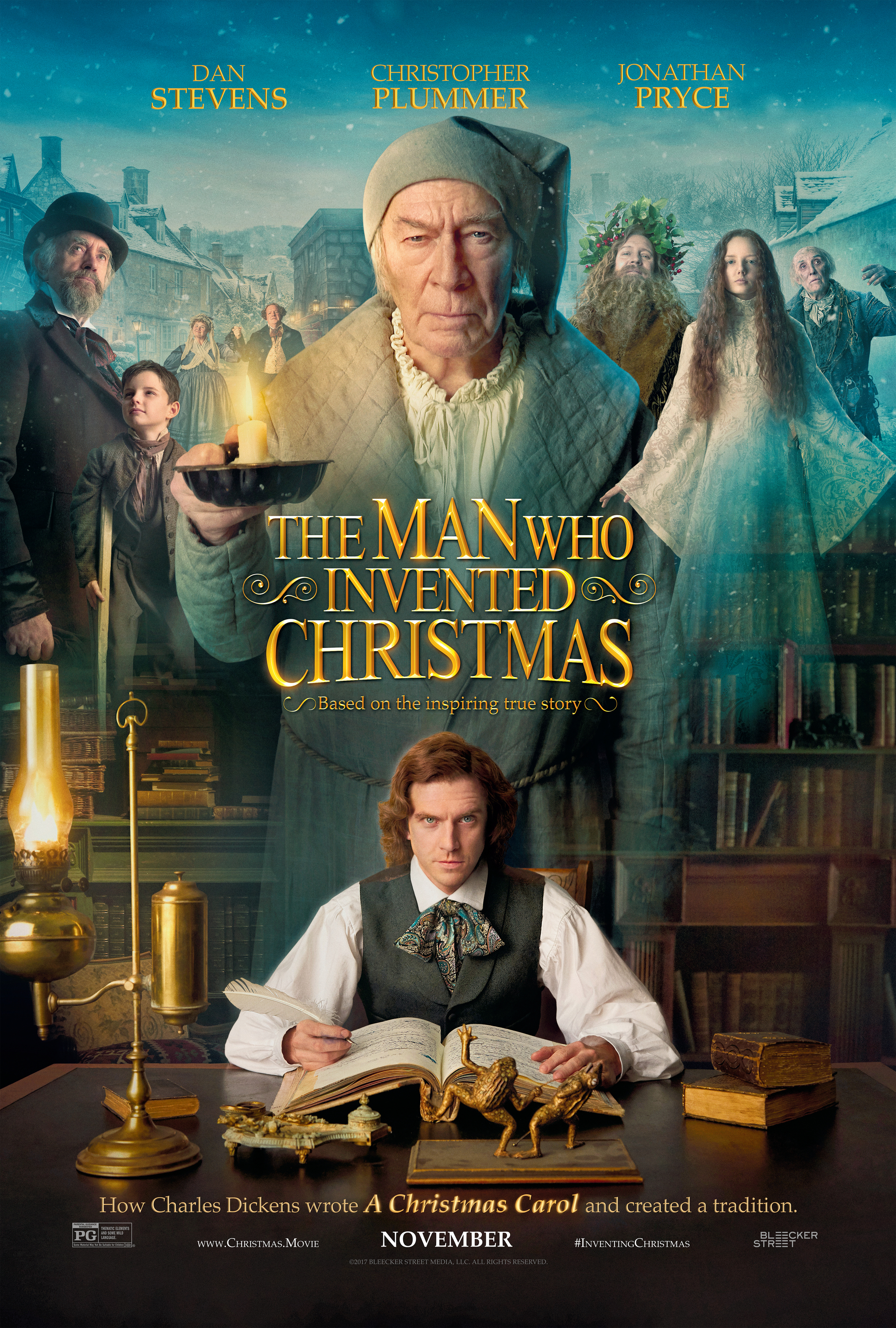 The Man Who Invented Christmas (2017) BluRay 480p, 720p & 1080p
