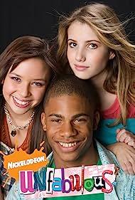 Emma Roberts, Jordan Calloway, and Melise in Unfabulous (2004)