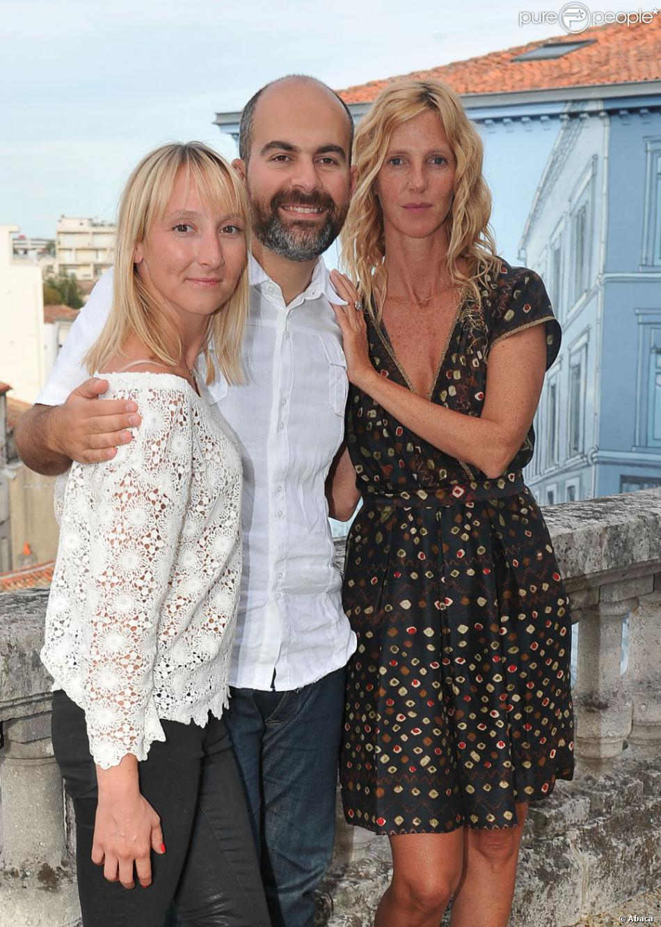 Sandrine Kiberlain, Marc Fitoussi, and Audrey Lamy at an event for Pauline détective (2012)