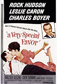 Charles Boyer, Rock Hudson, and Leslie Caron in A Very Special Favor (1965)