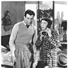 Robert Taylor and Elizabeth Patterson in Her Cardboard Lover (1942)
