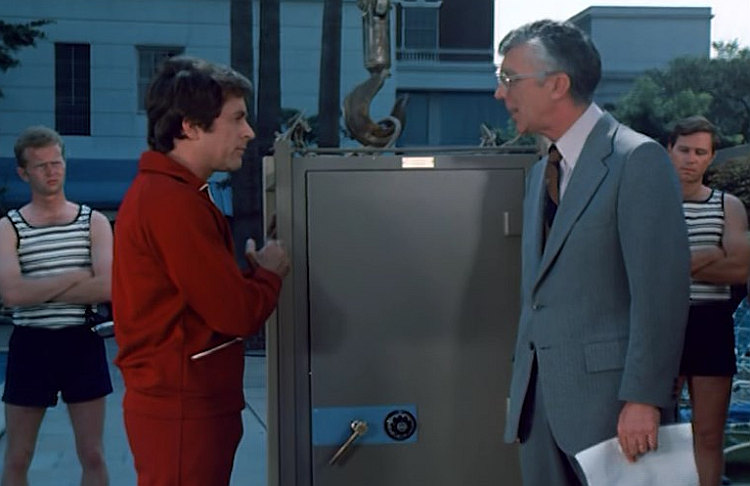 Herbert Anderson and Bill Bixby in The Magician (1973)