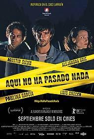 Agustín Silva and Geraldine Neary in Aquí No Ha Pasado Nada (2016)