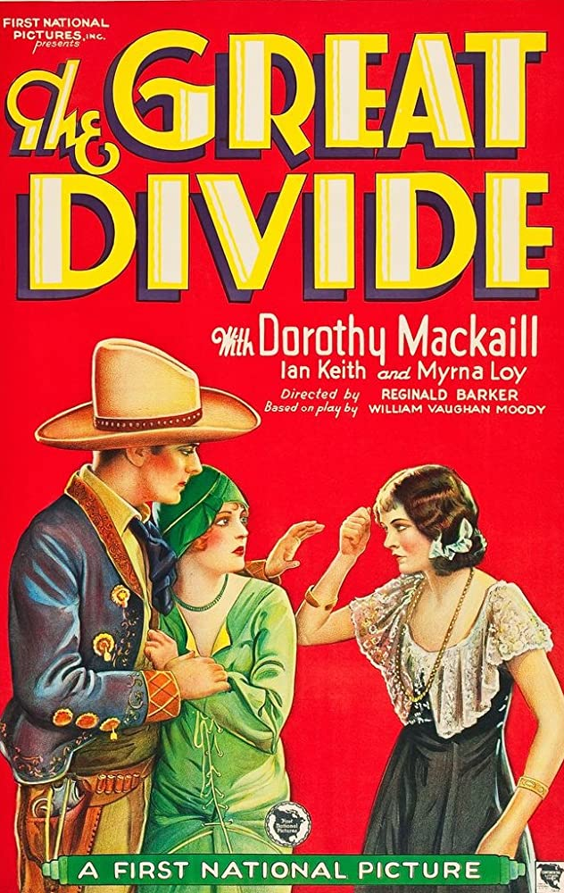 Myrna Loy, Ian Keith, and Dorothy Mackaill in The Great Divide (1929)