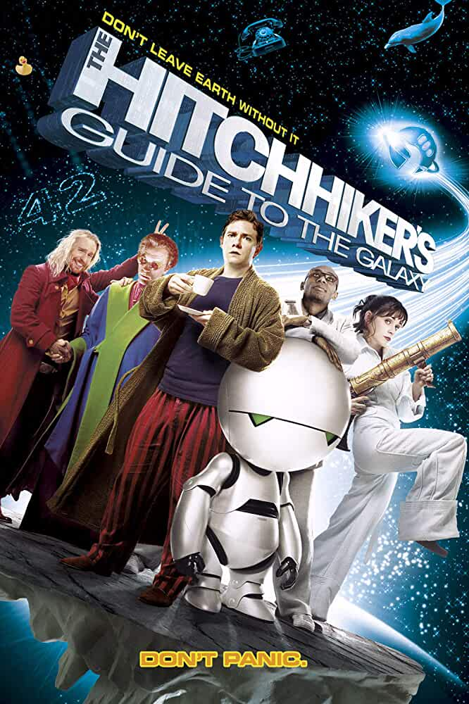 The Hitchhiker's Guide to the Galaxy (2005) Hindi Dubbed