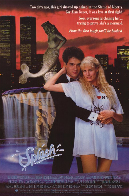 Splash (1984) BluRay 480p, 720p & 1080p