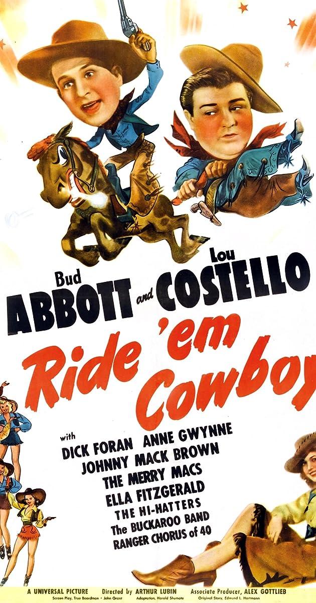 Subtitle of Ride 'Em Cowboy