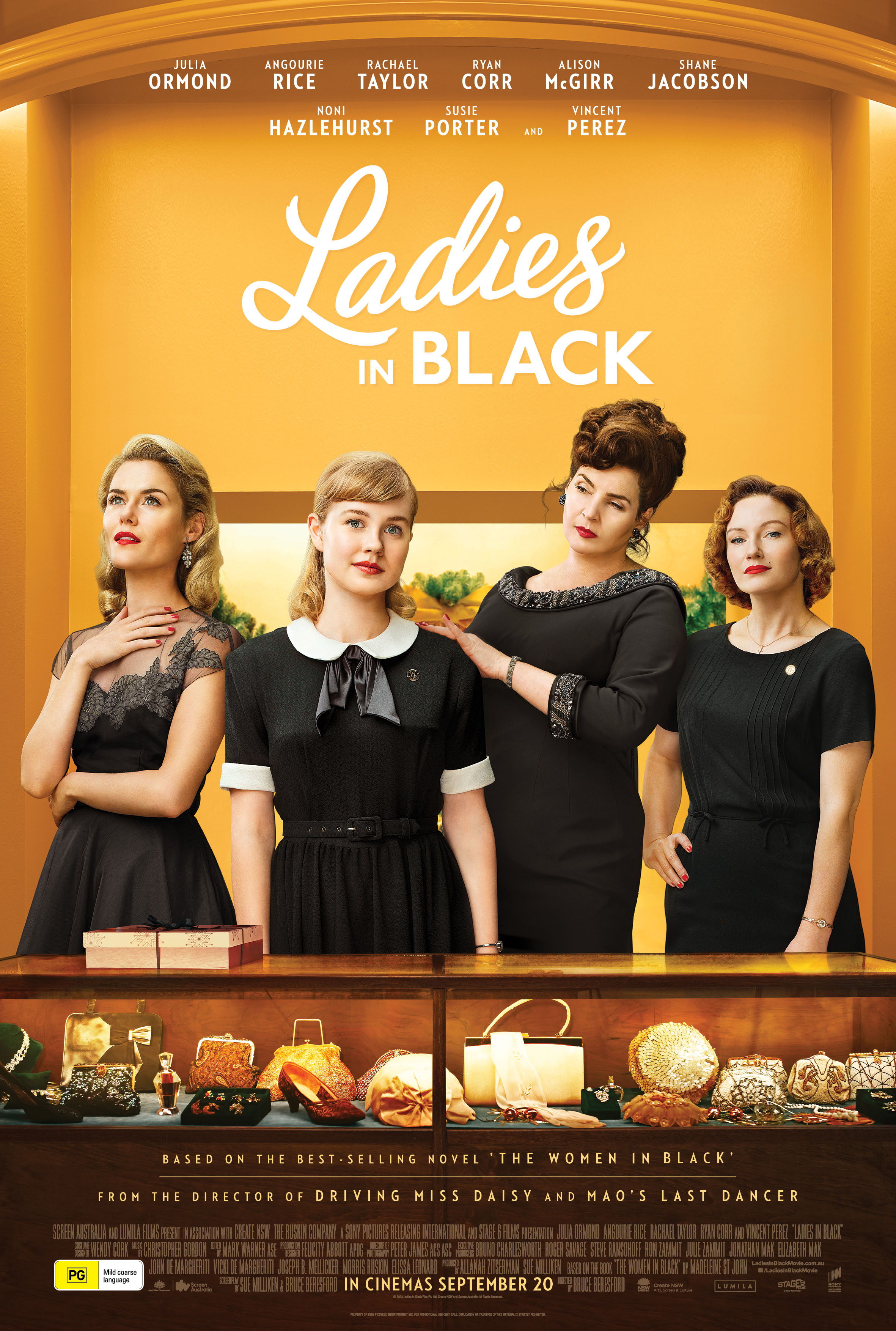 Image result for Ladies in Black (2018)