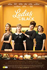 Julia Ormond, Rachael Taylor, Angourie Rice, and Alison McGirr in Ladies in Black (2018)