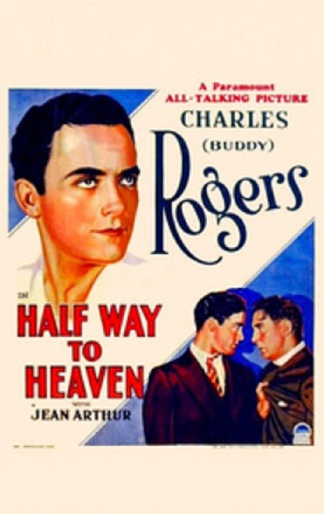 Paul Lukas and Charles 'Buddy' Rogers in Half Way to Heaven (1929)