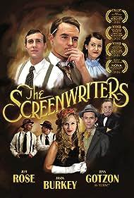 Jim McKeny, Jeff Rose, Jenn Gotzon, Sandra Elise Williams, Gary Bosek, Rich Swingle, Jason Burkey, and Curtis Louder in The Screenwriters (2016)