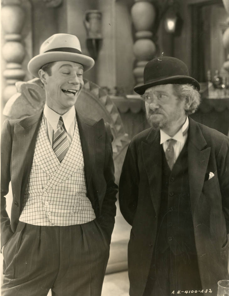 Joe E. Brown and Max Davidson in The Lottery Bride (1930)