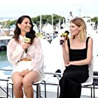 Olivia Munn and Emma Greenwell at an event for IMDb at San Diego Comic-Con (2016)