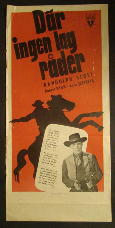 Randolph Scott in Trail Street (1947)